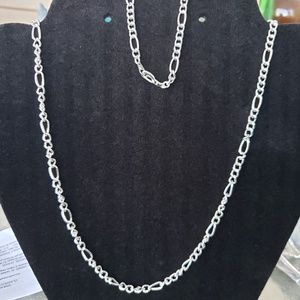 Jewelry - Silver plated necklace and bracelet set